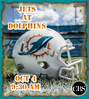 Week 4: Jets at Dolphins.