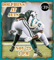 Week 12: Dolphins at Jets