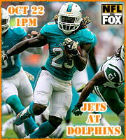 Jets at Dolphins, 1pm EST.
