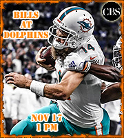 2019 Week 10: Buffalo Bills at Miami Dolphins (1 PM EST)