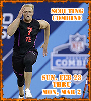 NFL Scouting Combine in Mobile, Alabama